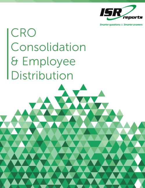 CRO Consolidation & Employee Distribution