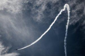 Condensation Trails airplane