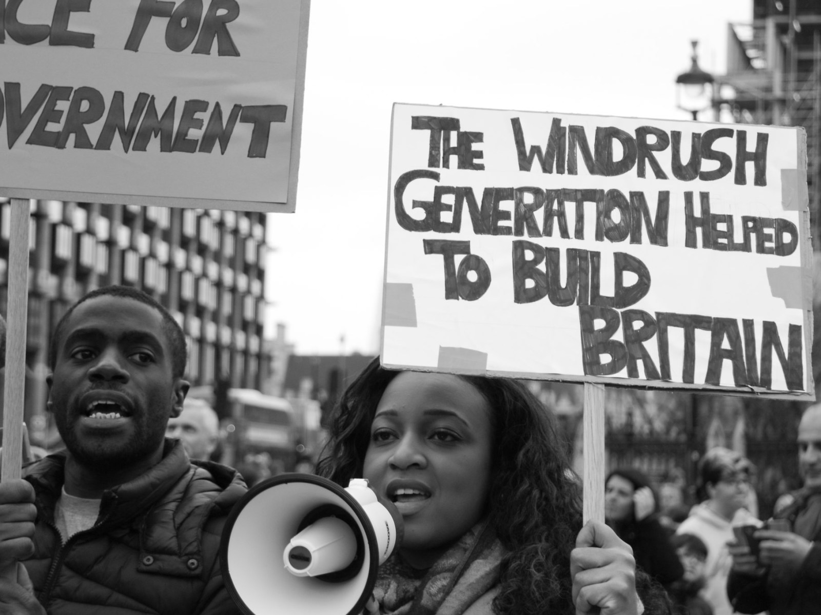 Windrush Protesters 2018