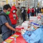 COVID testing in Peru