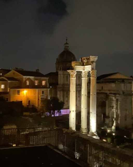 A night at the Roman Forum 🇮🇹❤️