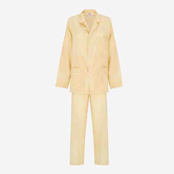nightwear chicissimo unisex roberto pyjama yellow issimo