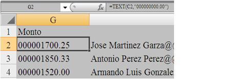 Crear el Layout para un archivo de Texto (4/4)