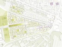 Masterplan 1:1000, © Stadt Land Fluss, bgmr Landschaftsarchitekten, ISSSresearch&architecture