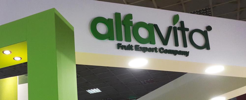 Alfa Vita Expo sign