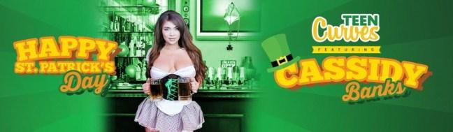 b422f2c00a3fa8fbefda45d280e74e90 l - Cassidy Banks - A Buxom St. Paddys Bar Maiden 2019