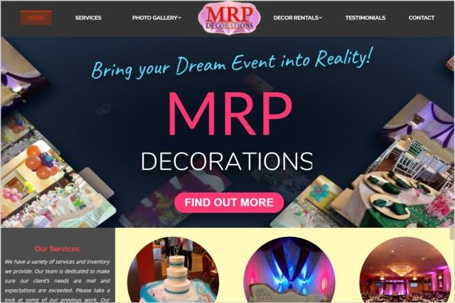 MRP Decorations