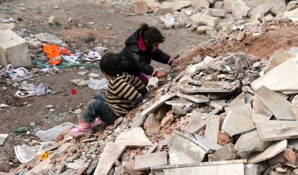 Flüchtlingskinder aus Syrien in Istanbul