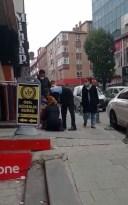 Arnavutköy'de yapılan dilenci operasyonunda zabıta şefkati