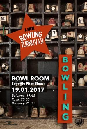 1. İKK Bowling Turnuvası