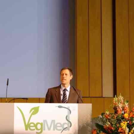 Dr. Neal Barnard auf der VegMed