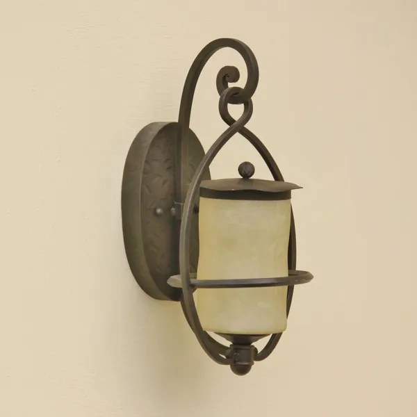 7304 1 rustic craftsman style outdoor wall light
