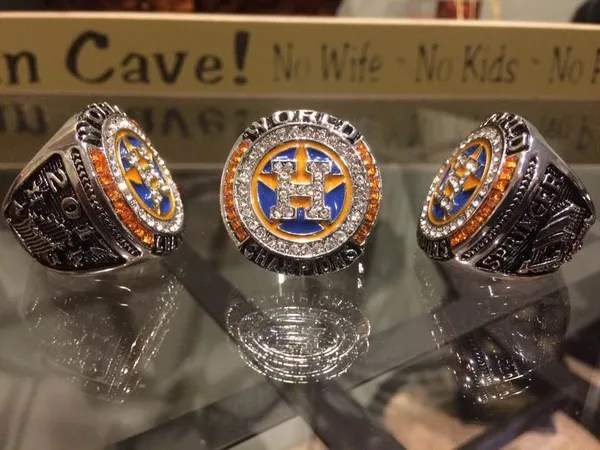 2017 Houston Astros Brand New World Series Championship Ring Sale Championship Bling Rings For