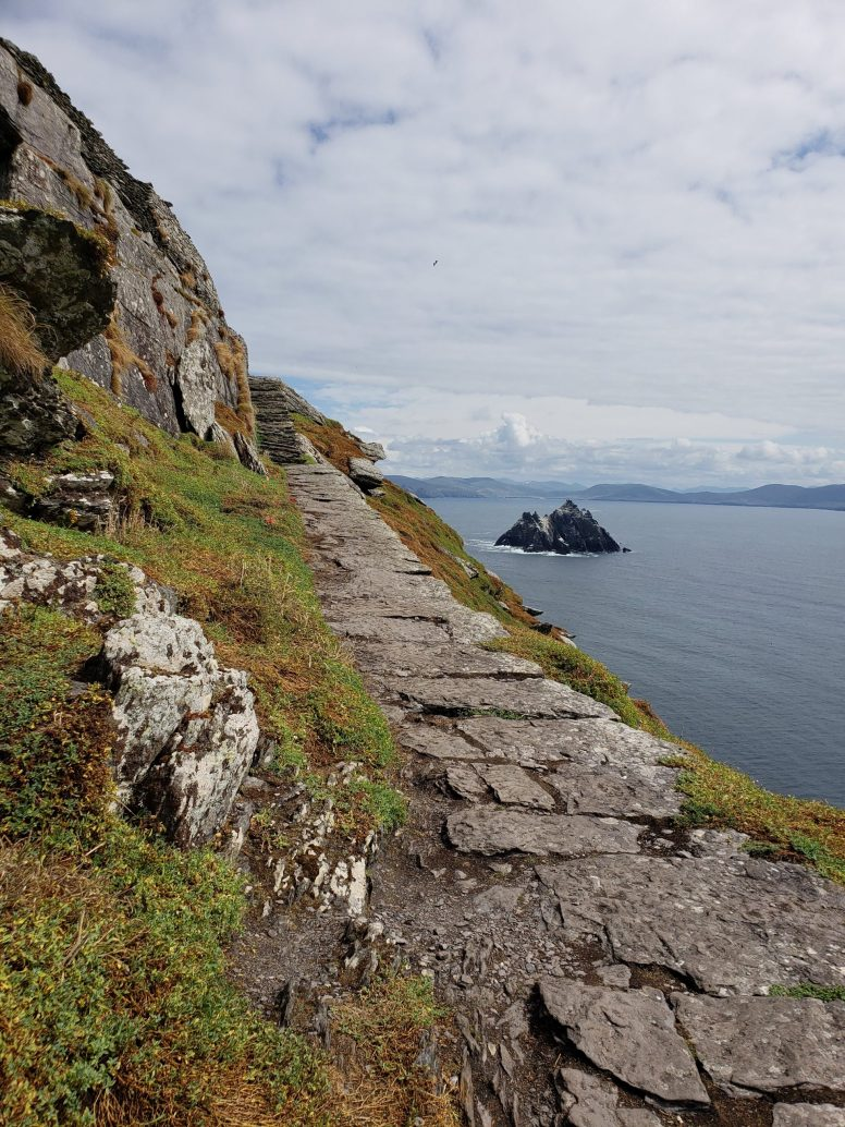 Top of Skellig Michael