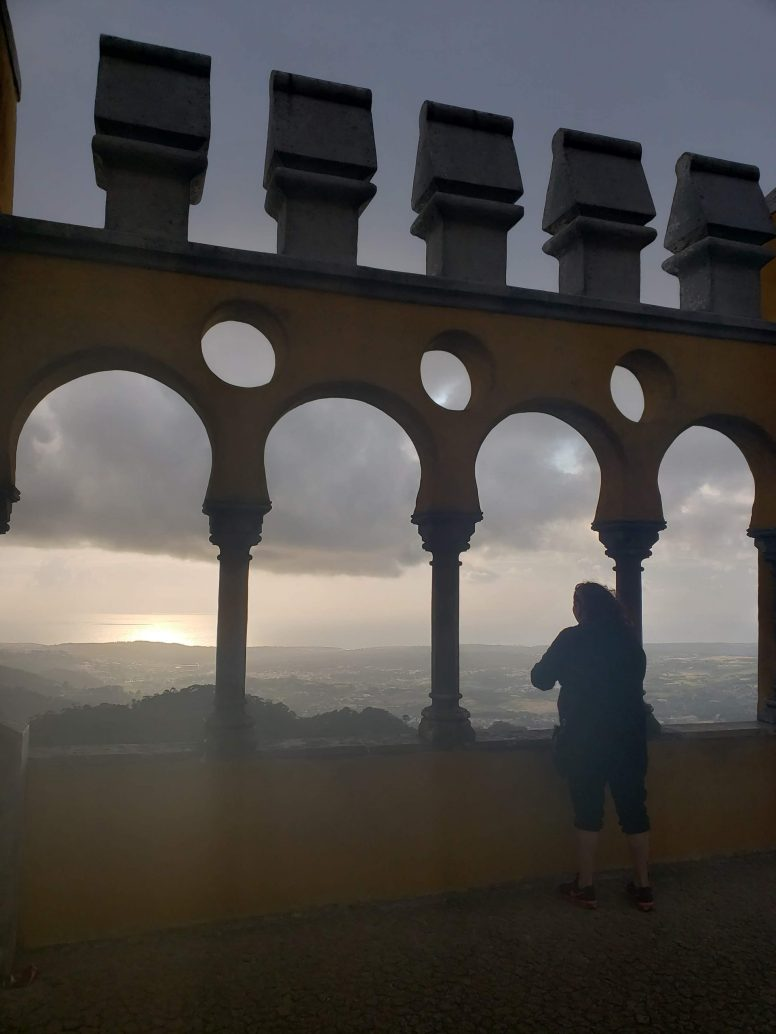 Look with your eyes...Pena Palace Sintra