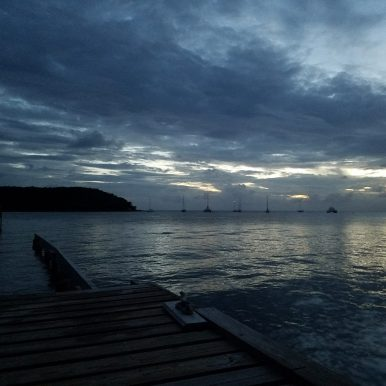 Sunset in Vieques PR