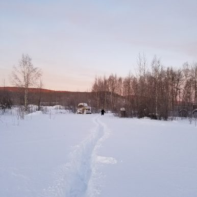 Hike to Gold Dredge 8