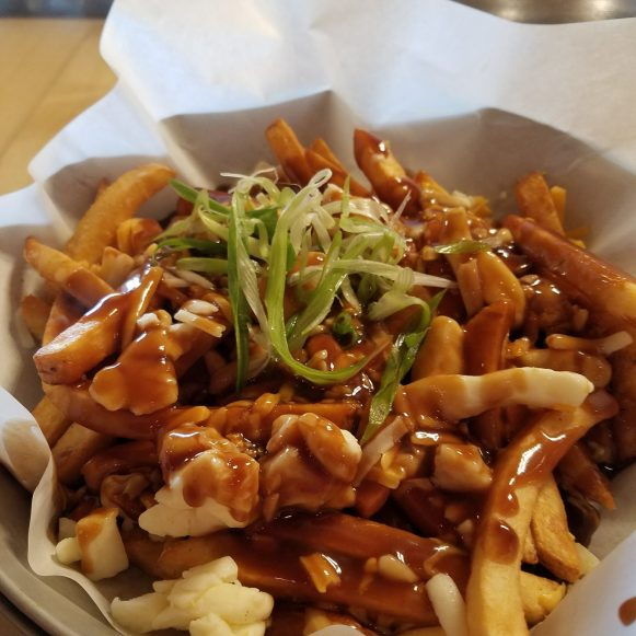 Poutine and a Red Ale - Half Hitch Brewing - Canada