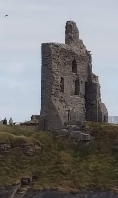 Ballybunion Beach Castle