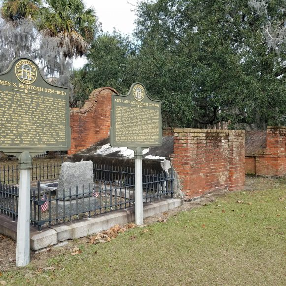 Tombs at Colonial Park Cemetery