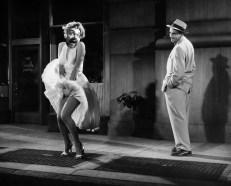 Nick Tann - Marilyn Monroe - with - a white dress