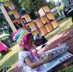 Perpustakaan Terbuka di Hidden Park