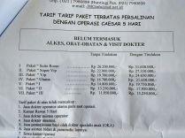 TarifCaesar5Hari