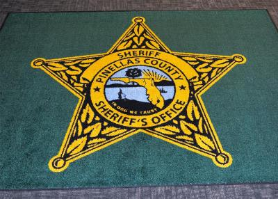 in dog we trust sheriff's office rug