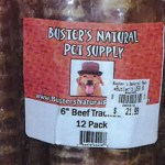 RECALL ALERT: Buster's Natural Pet Supply Beef Trachea Treats