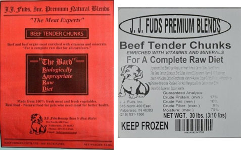 j.j. fuds beef chunks recall