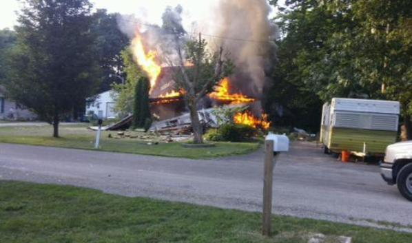 Illinois house explodes with Poodles inside