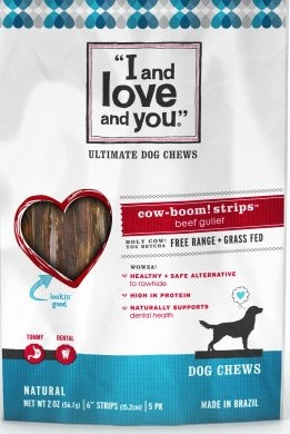 I and Love and You Cow-Boom Strips recall