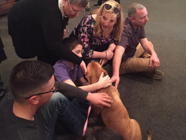 kai reunited with mckenzie canton's family