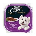 RECALL ALERT: Cesar Classics Filet Mignon Dog Food