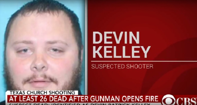 Devin Kelley, Texas church shooter