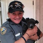 Daytona Beach Police Officers Rescue and Adopt Freezing Pit Bull Puppy