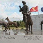 Four Monuments Honoring 4-Legged US War Heroes