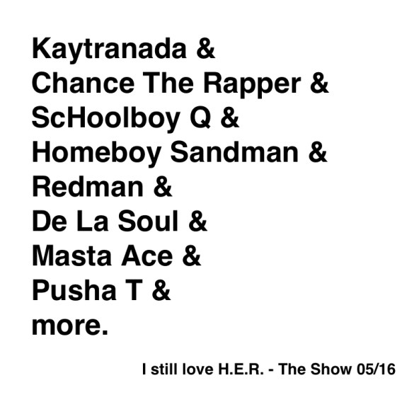 I still love H.E.R. - The Show 05:16