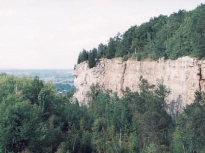 Ниагарский откос – осадочная формация, которая сломилась под действием сдвигового напряжения и была взброшена в результате излома