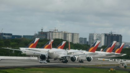 Philippine Airlines airline declares itself in bankruptcy