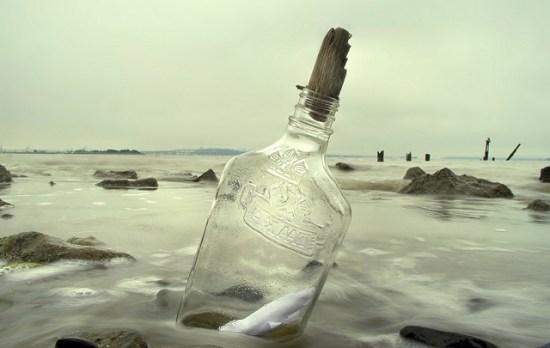 Μήνυμα σε μπουκάλι έρωτας