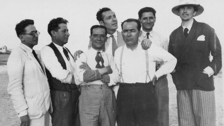Accursio Miraglia e i suoi amici a Sciacca
