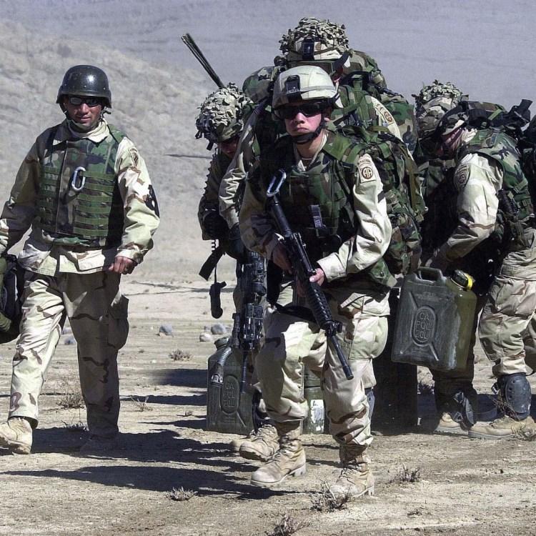 Gli americani in Afghanistan