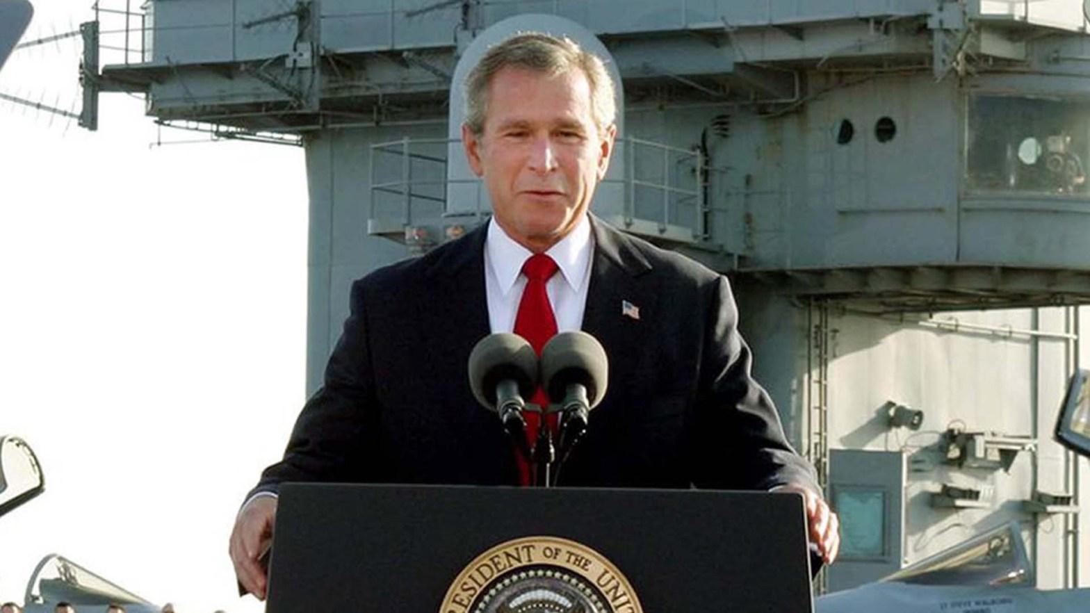 George W. Bush in Afghanistan e Iraq