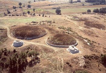Mausoleele de pe dealul Măgura