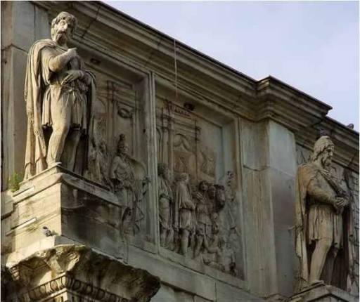 statui arcul lui Constantin