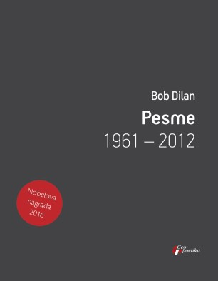 Novi naslovi - Korice knjige Pesme, Bob Dilan (Geopoetika, 2019)
