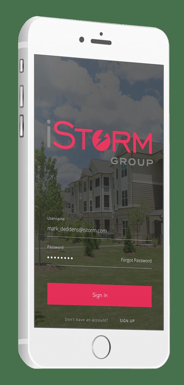 iStorm Mobile App