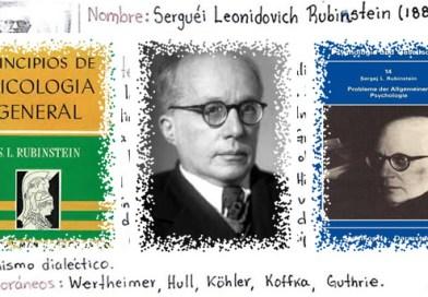 Σεργκέι Λεονίντοβιτς Ρούμπινσταϊν ένας πρωτοπόρος της «προσέγγισης της δραστηριότητας»
