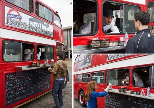 Inspirado nos tradicionais ônibus britânicos de dois andares, o 'Two Blokes' oferece um cardápio influenciado pela comida de diversos países….